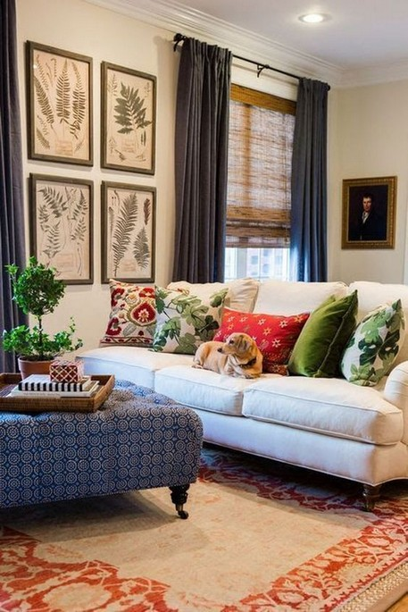 18 Popular Living Room Colors To Inspire Your Apartment Decoration 10