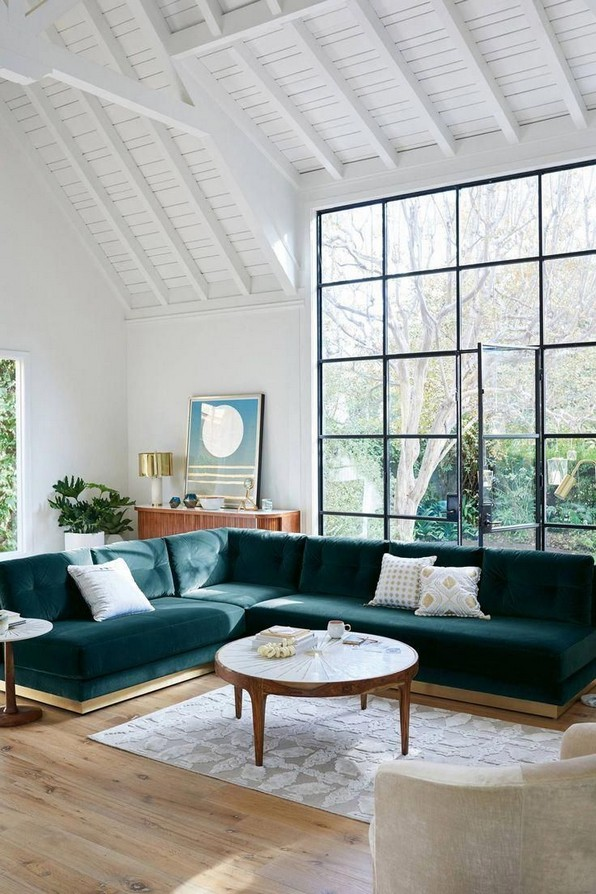 18 Popular Living Room Colors To Inspire Your Apartment Decoration 12