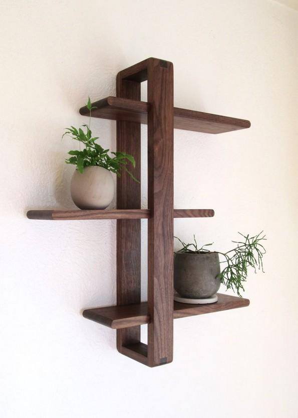 18 Top Choices Wood Wall Shelf 05