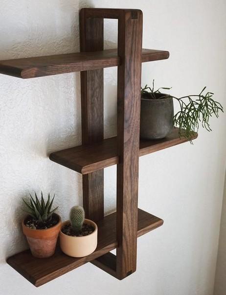18 Top Choices Wood Wall Shelf 18