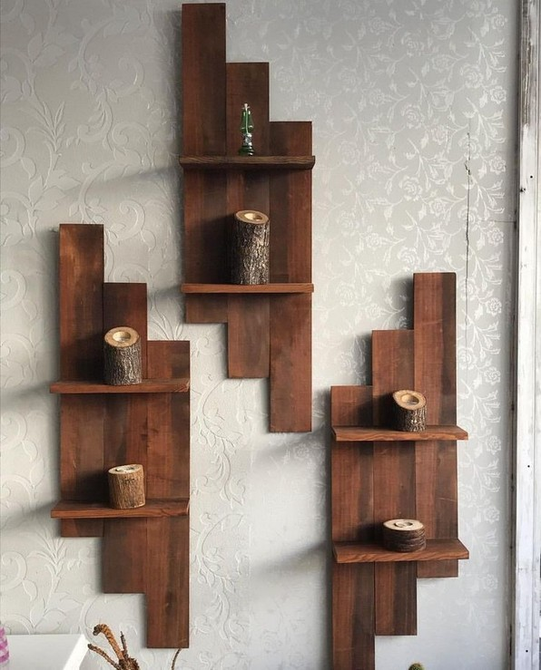 18 Top Choices Wood Wall Shelf 19