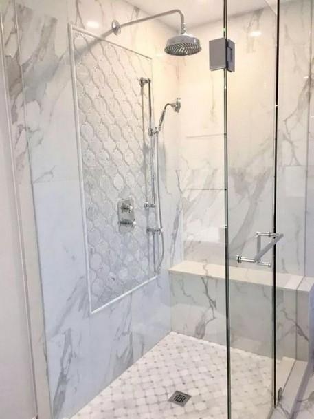 19 Bathroom Shower Makeover Decor Ideas 07