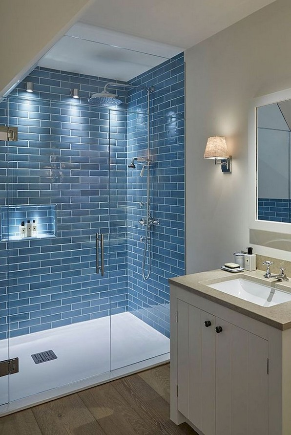19 Bathroom Shower Makeover Decor Ideas 10