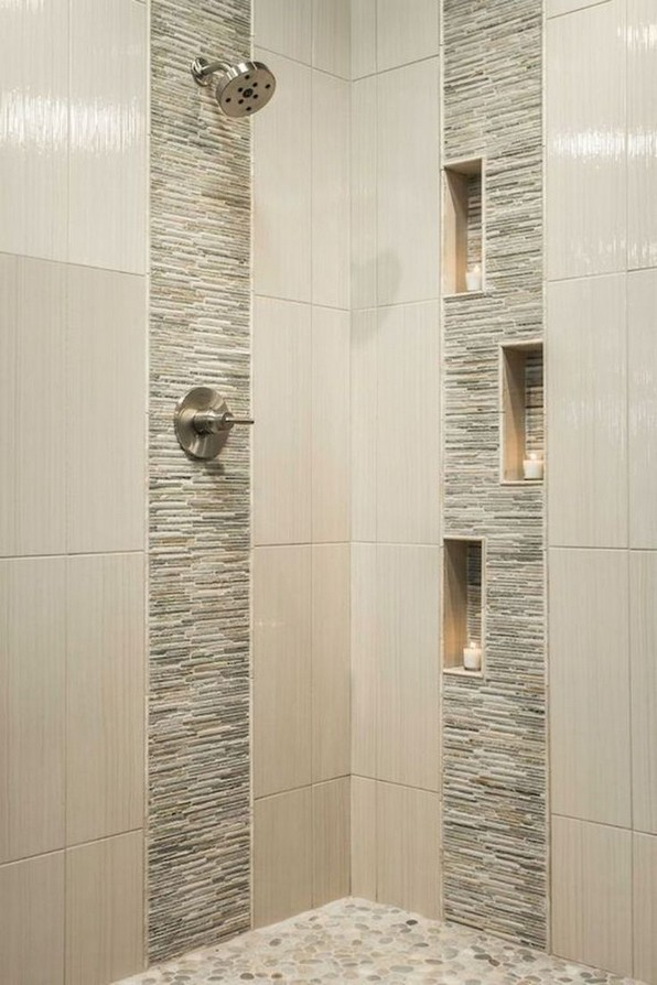 19 Bathroom Shower Makeover Decor Ideas 11