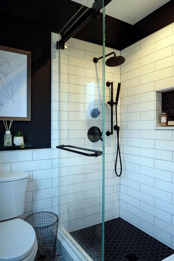 19 Bathroom Shower Makeover Decor Ideas 14