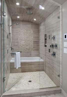 19 Bathroom Shower Makeover Decor Ideas 17