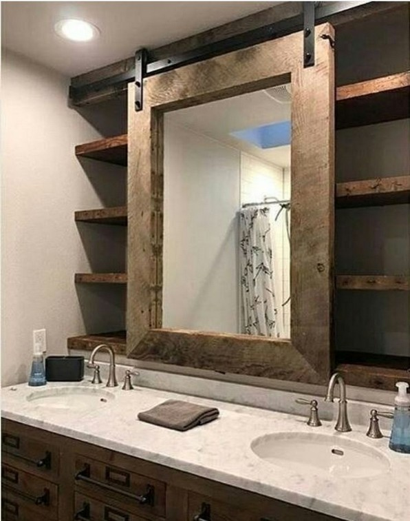 19 Great Bathroom Mirror Ideas 09