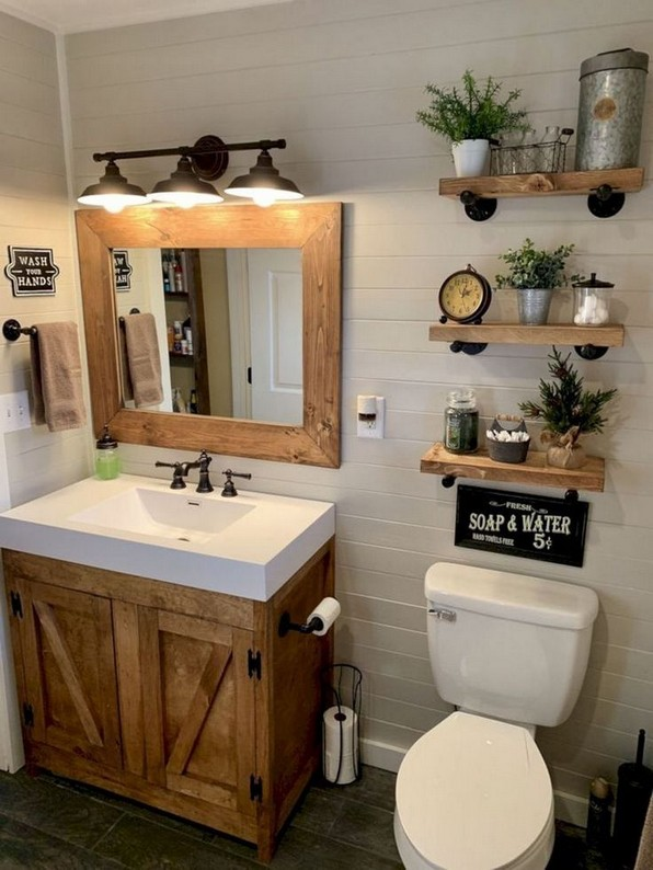 19 Small Bathroom Storage Decoration Ideas 09