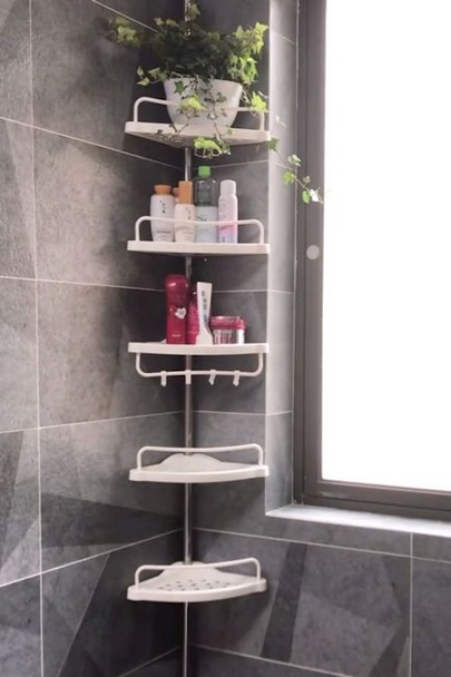 19 Small Bathroom Storage Decoration Ideas 18
