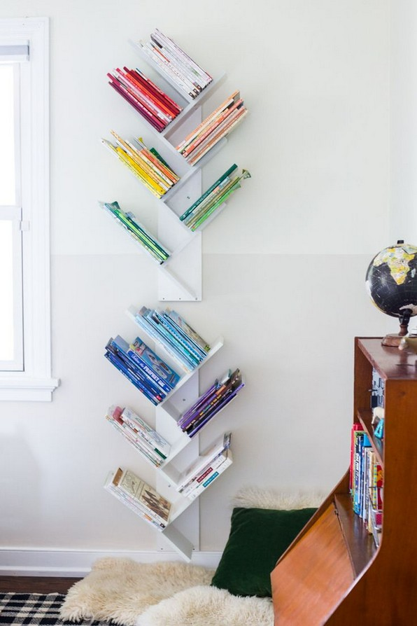 19 Unique Bookshelf Ideas For Book Lovers 13