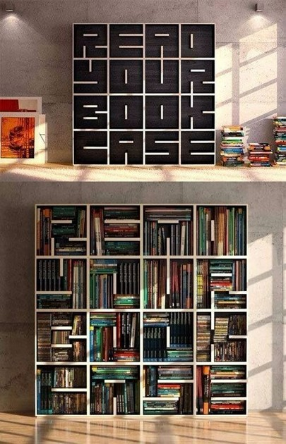 19 Unique Bookshelf Ideas For Book Lovers 21