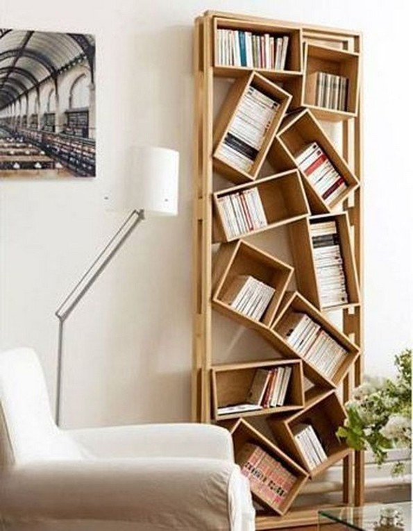 19 Unique Bookshelf Ideas For Book Lovers 28