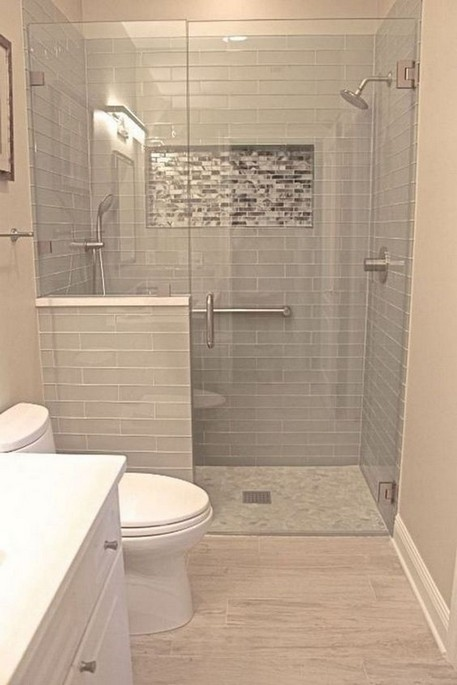 17 Awesome Small Bathroom Tile Ideas 20