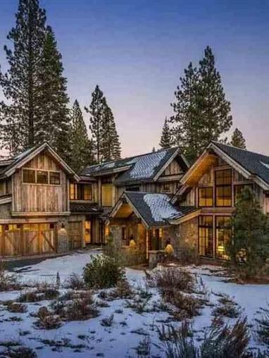 17 Beautiful Mountain Cabin Plans Hillside 20