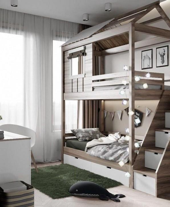 18 Ideas For Fun Children's Bunk Beds 04