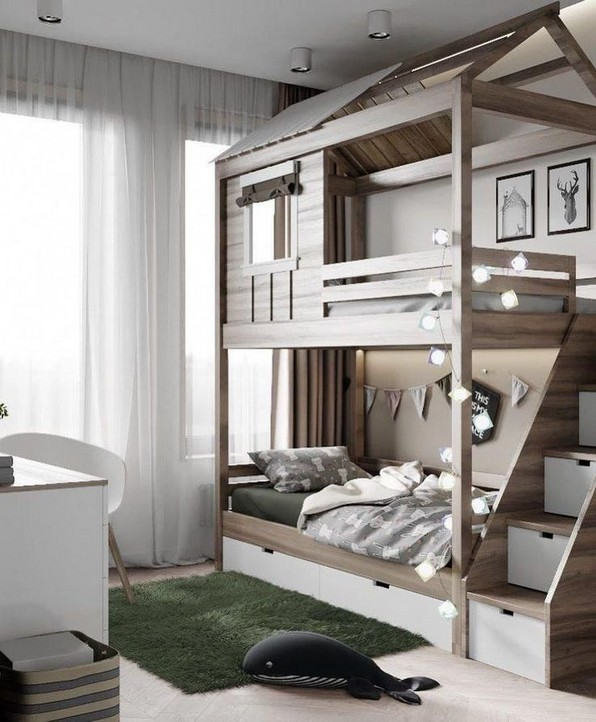 18 Ideas For Fun Children's Bunk Beds 04