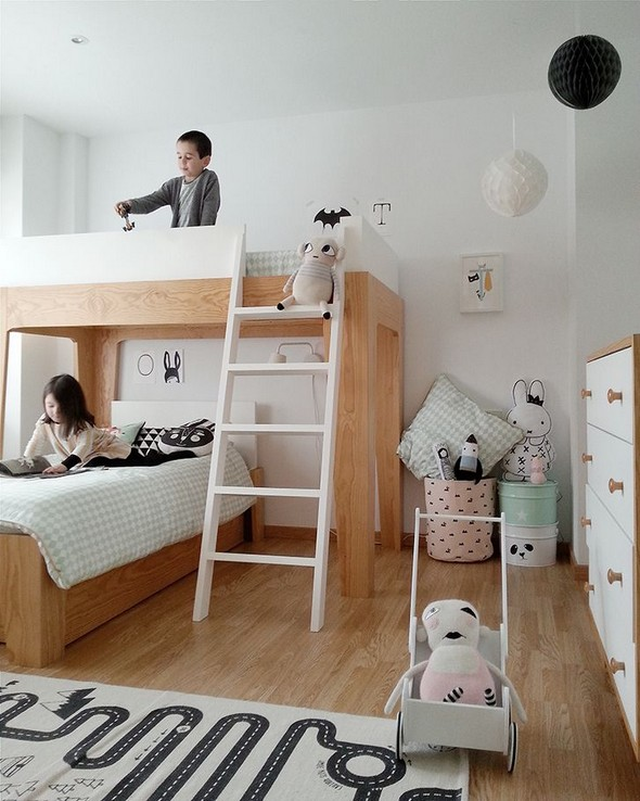 19 Amazing Bunk Bed Styles 23