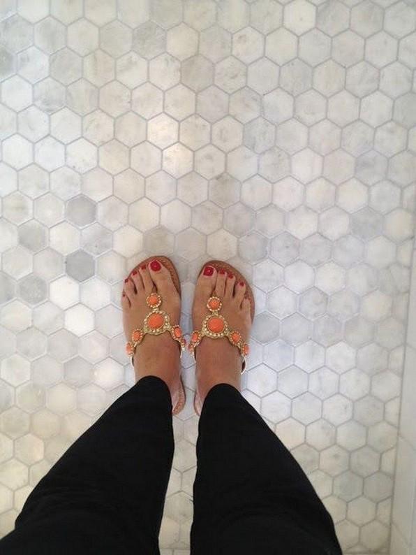 19 Beautiful Bathroom Tile Ideas For Bathroom Floor Tile 13