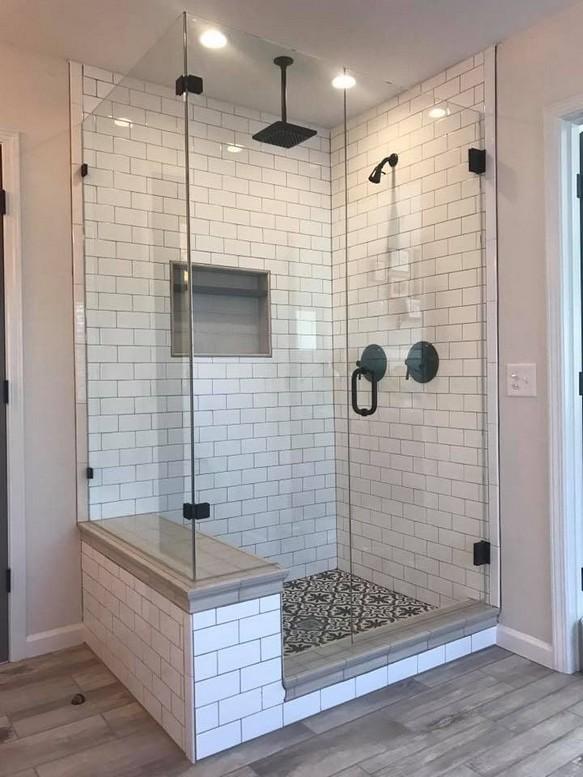 20 Beautiful Bathroom Shower Decoration 17