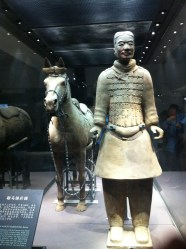 Reconstructed charioteer.
