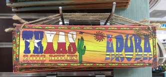 For this Texas gal, this sign was a hard buy to resist.
