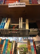 One of Key West Island Bookstore's specialities: local authors.
