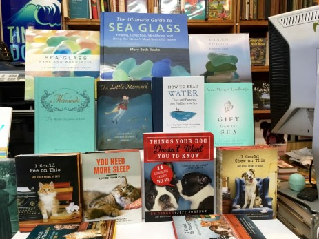 Hydrophile that I am, I loved this curation of ocean-themed books.