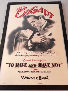 Love these posters for the movie adaptations of Hemingway's novels.