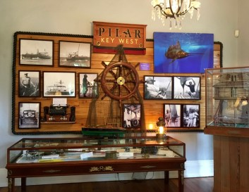 A tribute to one of Hemingway's favorite pursuits, discovered in Key West: sport fishing.