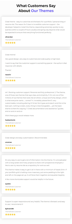 Leven | CV/Resume Theme - 6