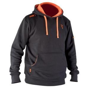 Mikina FOX Black/Orange Hoody