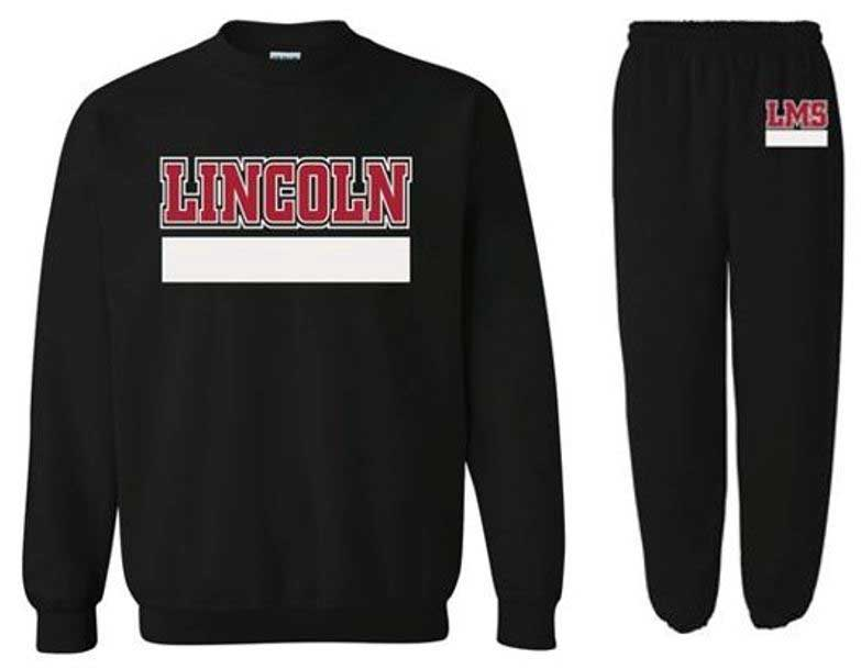 Lincoln Sweatshirt & Sweatpants Bundle