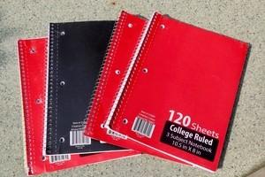 3-Subject Notebook
