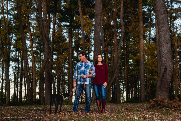 Pollard family photo session Lake Williams Jacobus PA