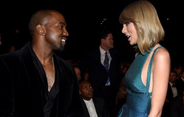 Taylor Swift、Kanye West