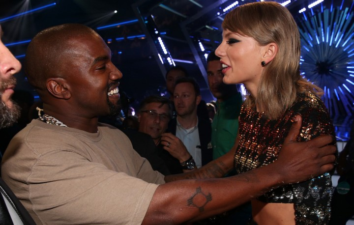 Taylor Swift、Kanye West