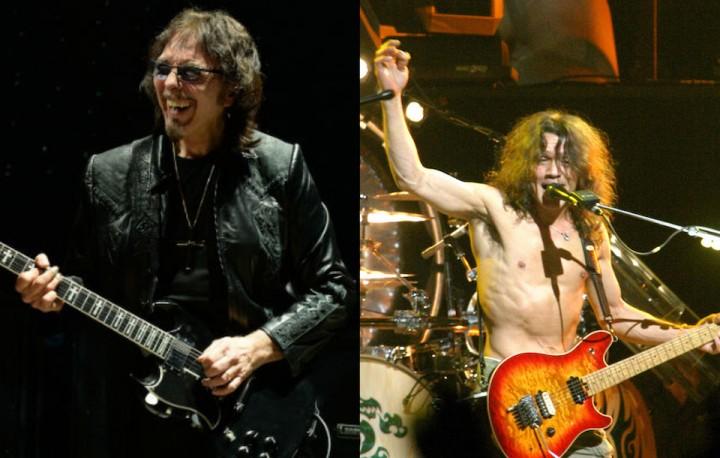 Tony Iommi、Eddie Van Halen