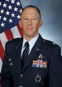 """Lt. Col. William """"Ash"""" Holland"""
