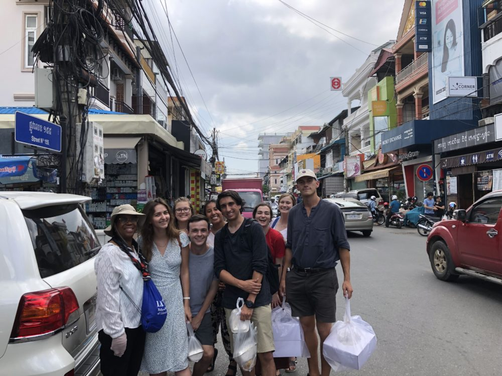 IC Cambodia group-street