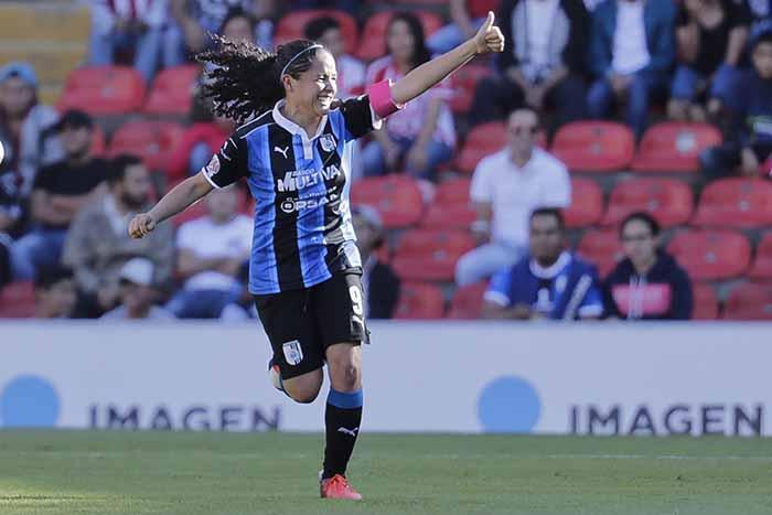 Andrea Romero abrió el marcador