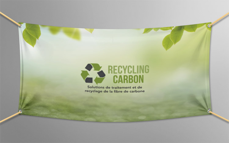 Création bâche - Association eco-responsable en Essonne