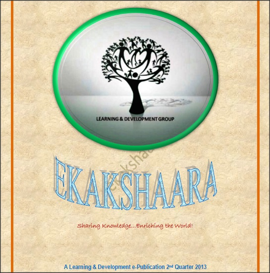 Ekaakshara – Vol 3 – April 2013