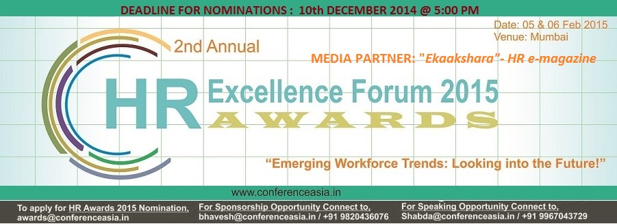 2nd Annual HR Excellence Forum & Awards 2015