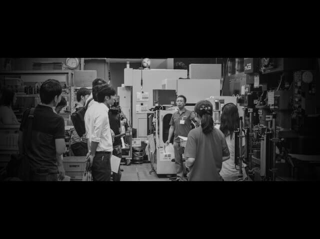 10/22 浜野製作所と共同でガレージスミダ交流会(町工場見学会&大交流会)を開催