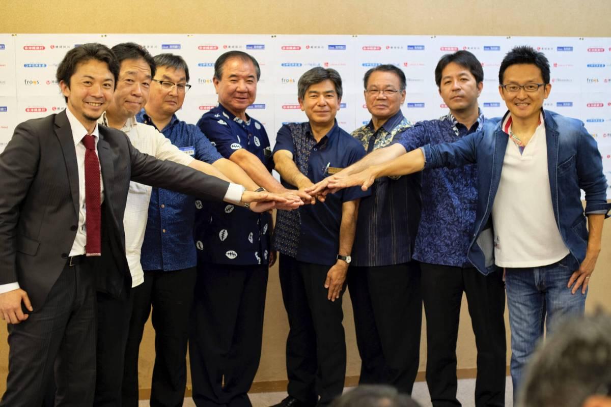 Ryukyufrogs、地域金融機関、NPO法人沖縄知の風と『琉球次世代ベンチャーの発掘と育成に向けた連携協定』を締結しました。