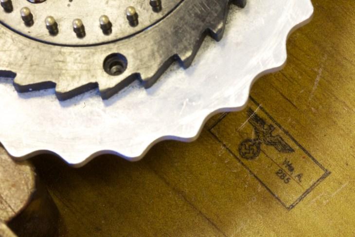 Close ups of Enigma rotors_mubsta