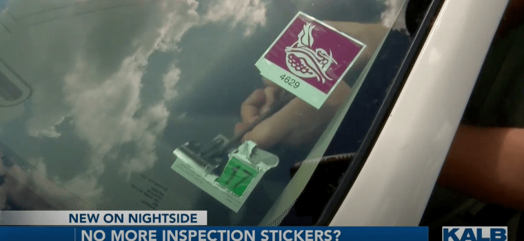 Louisiana Will Eliminate Car Inspections Stickers