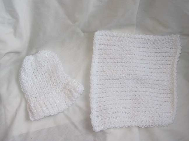 Hat & Baby Cloth For Ms. Kristi