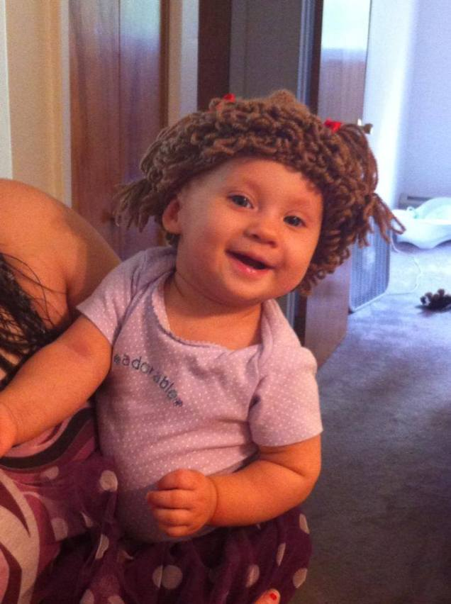 Cabbage Patch Hat For Boo
