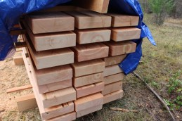 Douglas-fir table tops